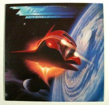 ZZ TOP   ~   Afterburner        1985 Blues Rock LP