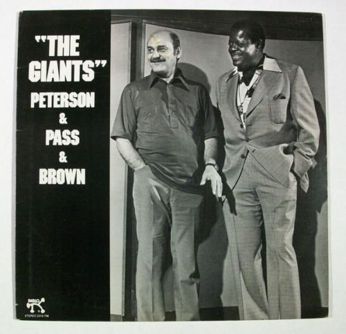 THE GIANTS Oscar Peterson & Joe Pass & Ray Brown 1977 Jazz LP