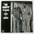 THE GIANTS ~ Oscar Peterson & Joe Pass & Ray Brown      1977 Jazz LP