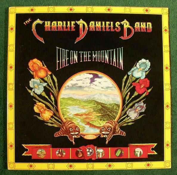The CHARLIE DANIELS BAND Fire On The Mountain 1974 Country Rock LP