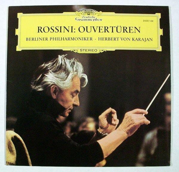 ROSSINI OUVERTUREN Berlin Philharmonic Herbert Von Karajan Classical LP