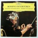 ROSSINI : OUVERTUREN   Berlin Philharmonic / Herbert Von Karajan    Classical LP