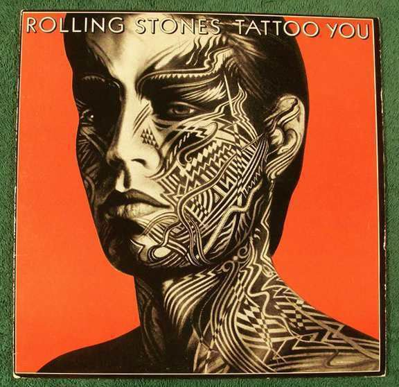 ROLLING STONES Tattoo You 1981 Rock LP