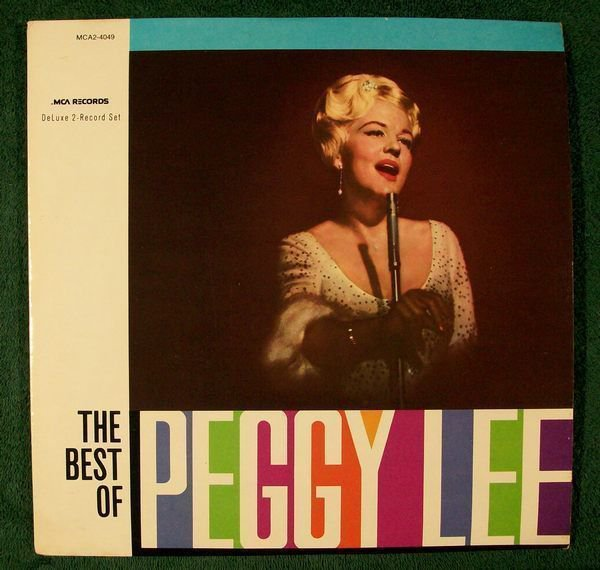 PEGGY LEE & 34 The Best of Peggy Lee & 34 1980 Double Album LP