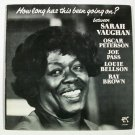 OSCAR PETERSON ~ JOE PASS ~ SARAH VAUGHAN ~ LOUIE BELLSON      1978 Jazz LP