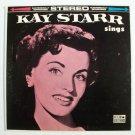 KAY STARR   ~   Kay Starr Sings         1960 Jazz / Vocal LP