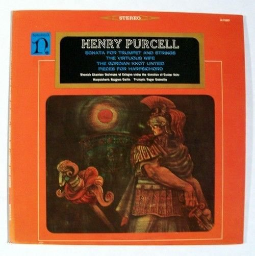 HENRY PURCELL Gordian Knot Virtuous Wife Classical LP