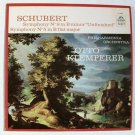 "FRANZ SCHUBERT ~ Symphony No. 8 in B Minor ""Unfinished"" / Symphony No. 5    LP"