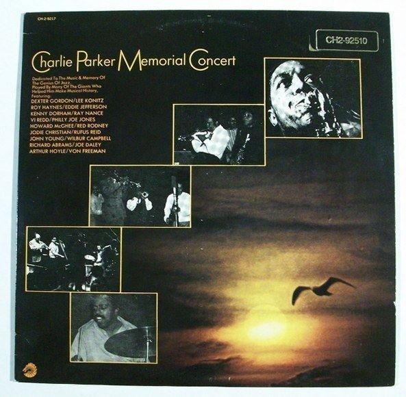CHARLIE PARKER Memorial Concert 1984 DOUBLE Jazz LP