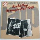 CHARLIE PARKER  ~  Bird & Pres / Carnegie Hall 1949        1983 Jazz LP