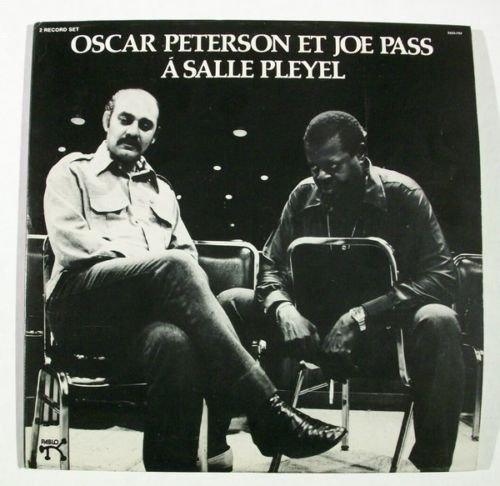 A SALLE PLEYEL Oscar Peterson Et Joe Pass 1975 DOUBLE Jazz LP