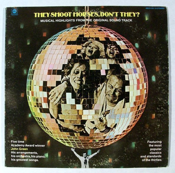 THEY SHOOT HORSES DON& 39 T THEY 1969 Soundtrack LP