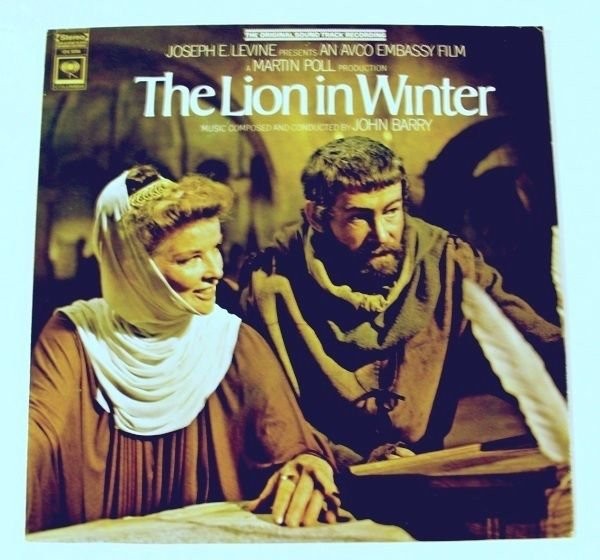 THE LION IN WINTER 1969 Soundtrack LP