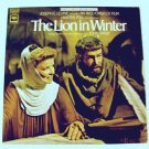 THE LION IN WINTER   ***   1969 Soundtrack LP