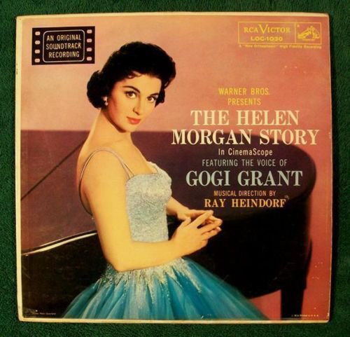 THE HELEN MORGAN STORY 1957 Original Soundtrack LP
