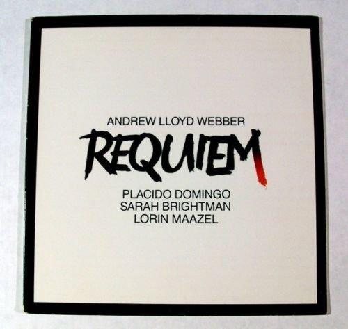 REQUIEM Andrew Lloyd Webber 1985 Soundtrack LP