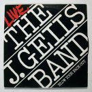 J. GEILS BAND  ~  Live / Blow Your Face Out    1976 Blues Rock LP   Double Album
