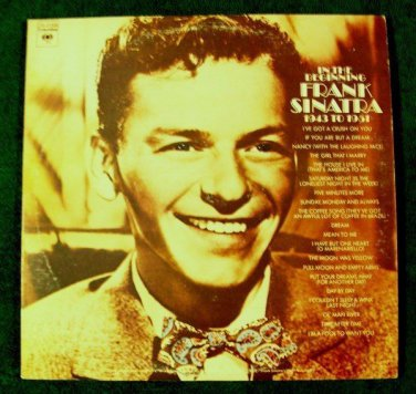 FRANK SINATRA  ~  In The Beginning 1943 To 1951       1972 Double LP