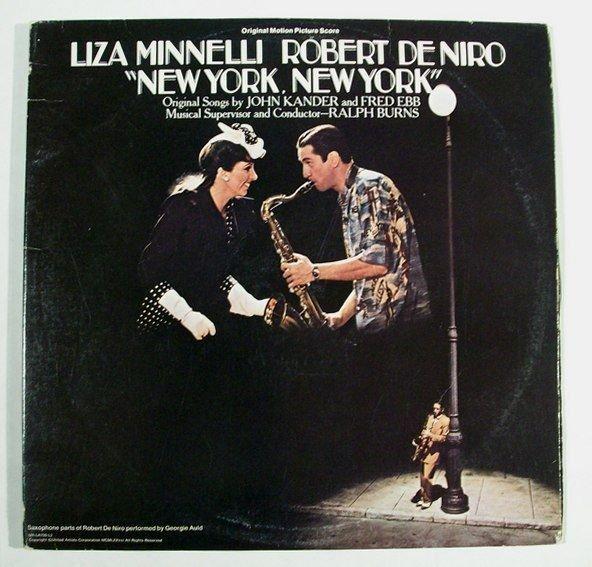 NEW YOR NEW YORK Double Album 1977 Original Motion Picture Score LP
