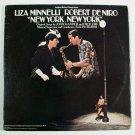 NEW YORK, NEW YORK   /  Double Album    1977 Original Motion Picture Score LP