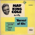 NAT KING COLE ~ Harvest of Hits   ***   1950 45rpm EP  /  DOUBLE Cardboard PS