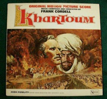 KHARTOUM    ***    1966 Original Motion Picture Score