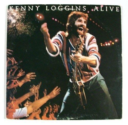 KENNY LOGGINS & 34 Kenny Loggiins Alive & 34 1980 DOUBLE Rock LP