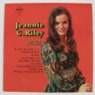 "JEANNIE C. RILEY     "" The World of Country ""      1972 Country LP"