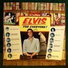 ELVIS FOR EVERYONE !   ~   1965 Early Rock & Roll LP