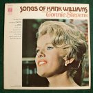 CONNIE STEVENS  ~  Songs Of Hank Williams        1969 Country LP