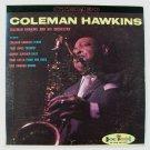 """COLEMAN HAWKINS         """" Coleman Hawkins """"       1960 Jazz LP / Red Vinyl"""