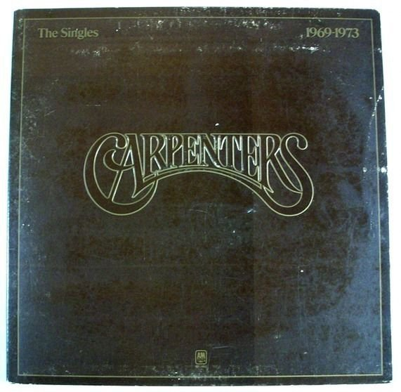 CARPENTERS & 34 The Singles 1969 1973 & 34 1973 Pop LP
