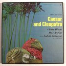 Bernard Shaw's CAESAR & CLEOPATRA   3-LP Box Theatre Soundtrack / Booklet