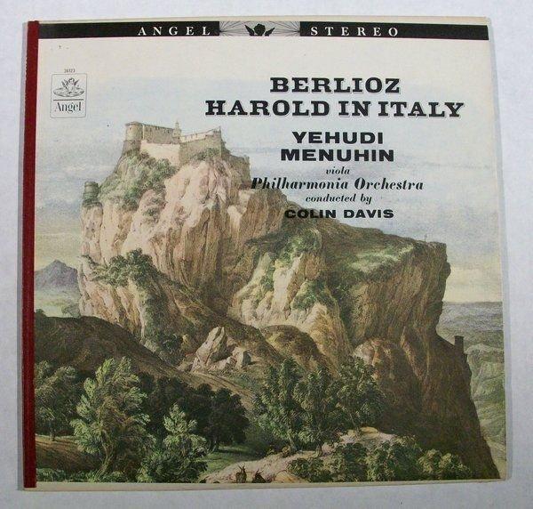 BERLIOZ Harold In Italy Op 16 Yehudi Menuhin Viola Classical LP