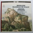 BERLIOZ ~ Harold In Italy, Op. 16  /  Yehudi Menuhin, Viola     Classical LP