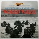 WORLD WAR II  ~  Historic Voices and Music   /  American Heritage LP