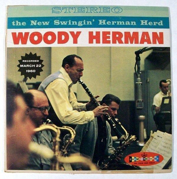 WOODY HERMAN & 34 The New Swingin& 39 Herman Herd & 34 1960 Jazz LP Red Vinyl