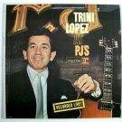 TRINI LOPEZ  ~  Trini Lopez At PJ's      1963 Pop LP     Recorded Live!