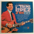 TRINI LOPEZ  ~  More Trini Lopez At PJ's      1963 Pop LP     Recorded Live!