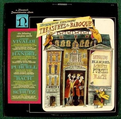 TREASURES of the BAROQUE Classical LP