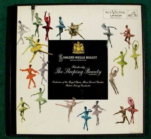 THE SLEEPING BEAUTY Tchaikovsky Classical 2 LP Box Set