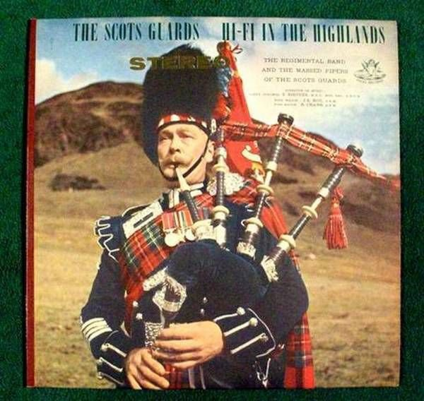 THE SCOTS GUARDS & 34 Hi Fi In The Highlands & 34 Stereo LP