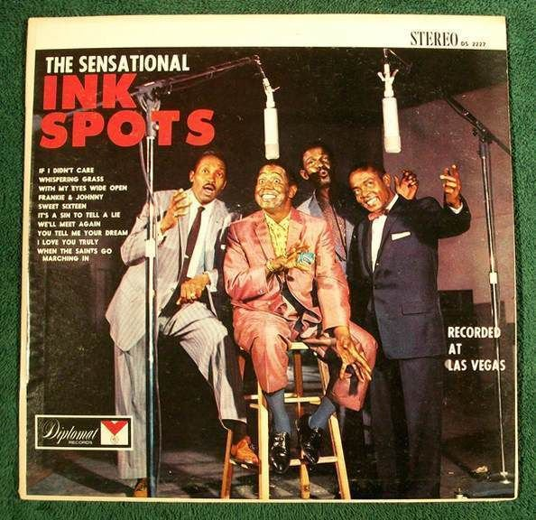 THE INK SPOTS The Sensational Ink Spots 1962 R&B Pop LP