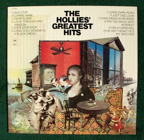 THE HOLLIE& 39 S GREATEST HITS 1979 Pop Rock LP
