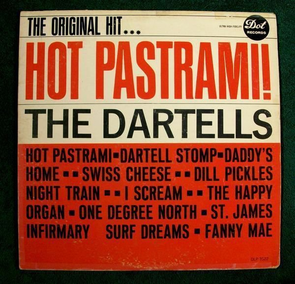 THE DARTELLS Hot Pastrami 1963 Early Rock & Roll LP