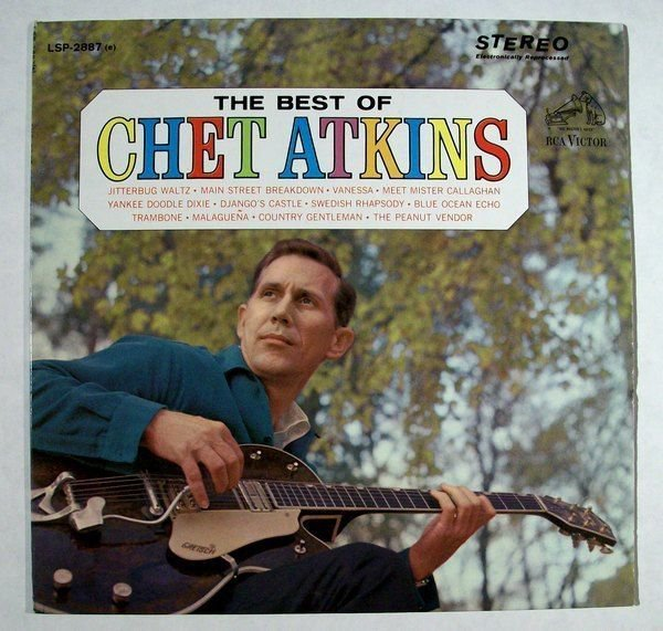 The BEST of CHET ATKINS 1964 Country LP & 34 Mr Guitar & 34