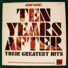"TEN YEARS AFTER        "" Goin' Home! ""       1975 Rock LP"
