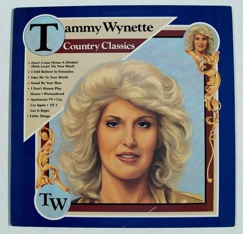 Tammy Wynette Quot Country Classics Quot 1982 Country Lp