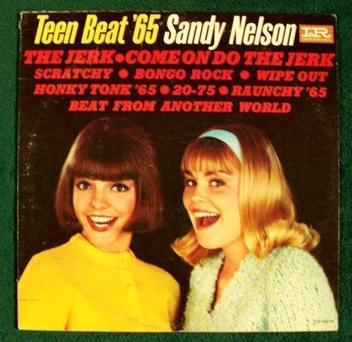 SANDY NELSON Teen Beat & 39 65 1965 Rock & Roll LP