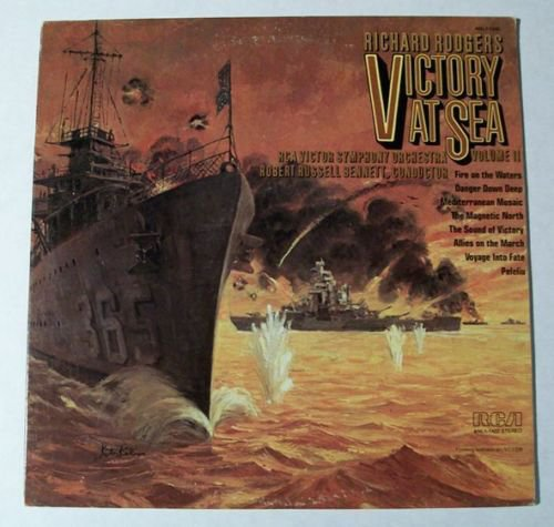 Richard Rodgers& 39 VICTORY AT SEA Volume II 1976 Soundtrack LP